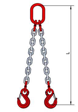 Купить строп цепной Т8-2СЦ-1,6-3,0 класс прочности Т8 по цене 2426 руб.