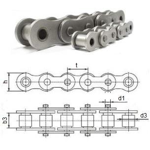 Купить цепь однорядная ПР-38,1-127 по цене 1200 руб.