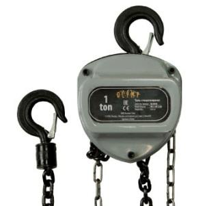 Купить таль ручная шестеренная  OLC 1,0т, 3м по цене 3450 руб.