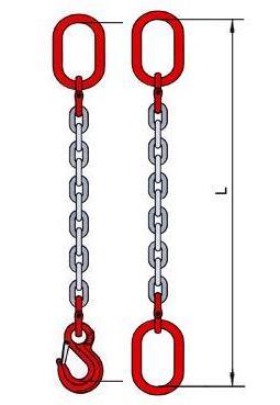 Купить строп цепной Т8-1СЦ-5,3-4,0 класс прочности Т8 по цене 5850 руб.