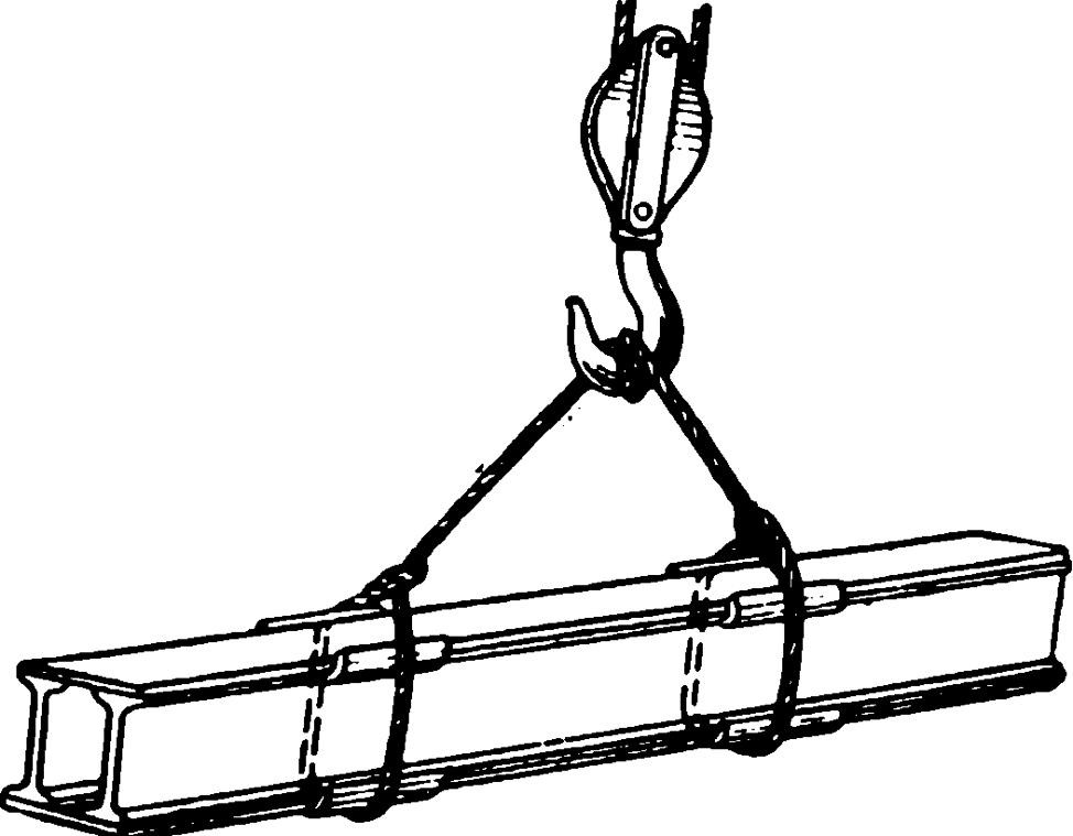 Правила безопасности при строповке грузов