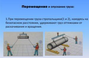 Правила перемещения грузов